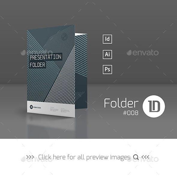 Presentation Folder Template 008