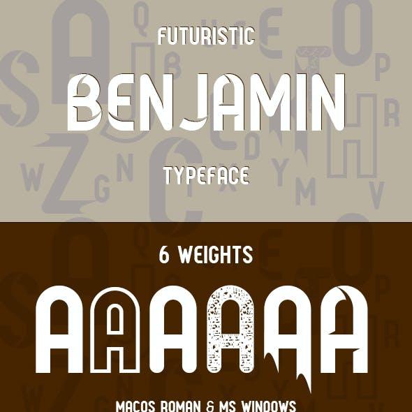 Benjamin Typeface