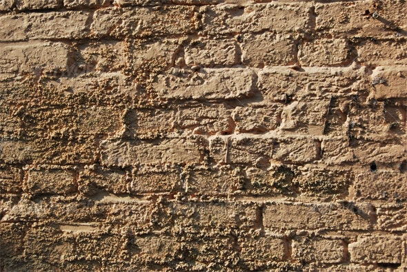 Old Brick Wall - Stone Textures