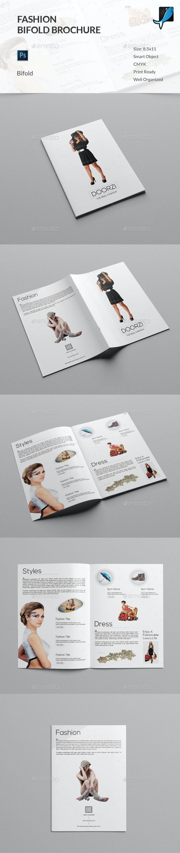 Fashion Bifold Brochure - Catalogs Brochures