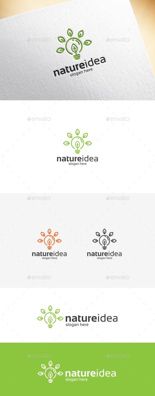 Nature Idea Logo Template - Symbols Logo Templates