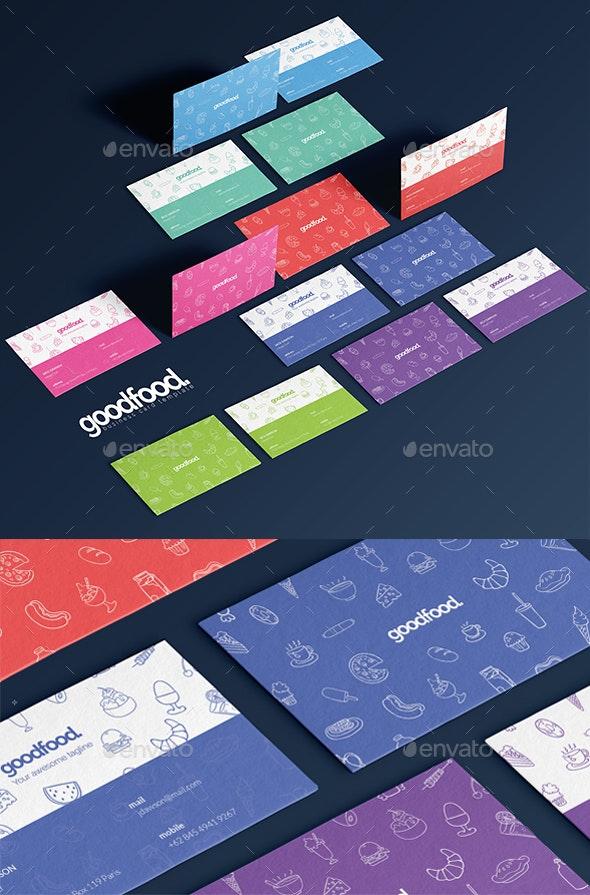 Goodfood Business Card - Print Templates