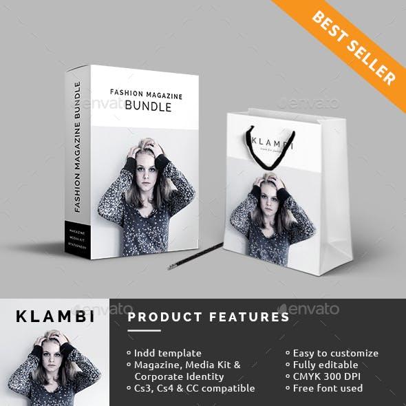Bundle Fashion Magazine, Media Kit & Corporate Identity
