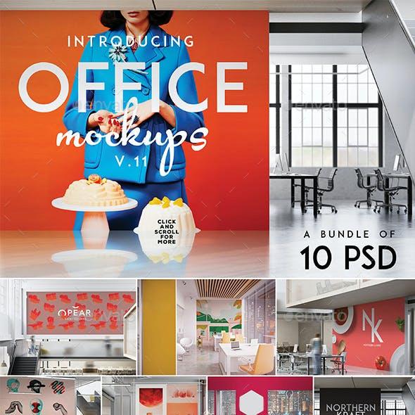 Office Branding & Poster Mockup