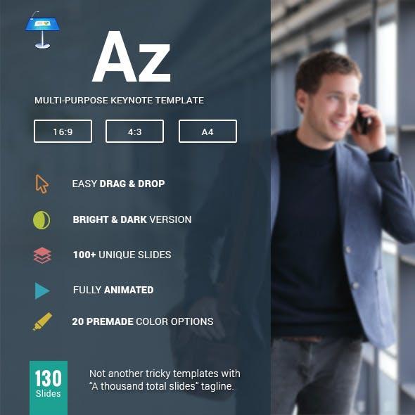 AZ - Multipurpose Keynote Template