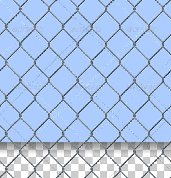 Security Fence Pattern - Patterns Decorative