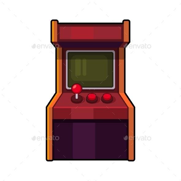 Classic Arcade Machine - Computers Technology
