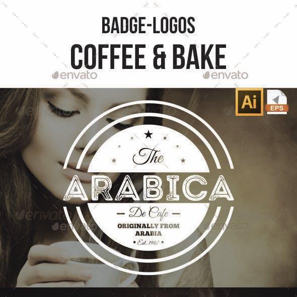 Badge-Logo Coffee and Bake