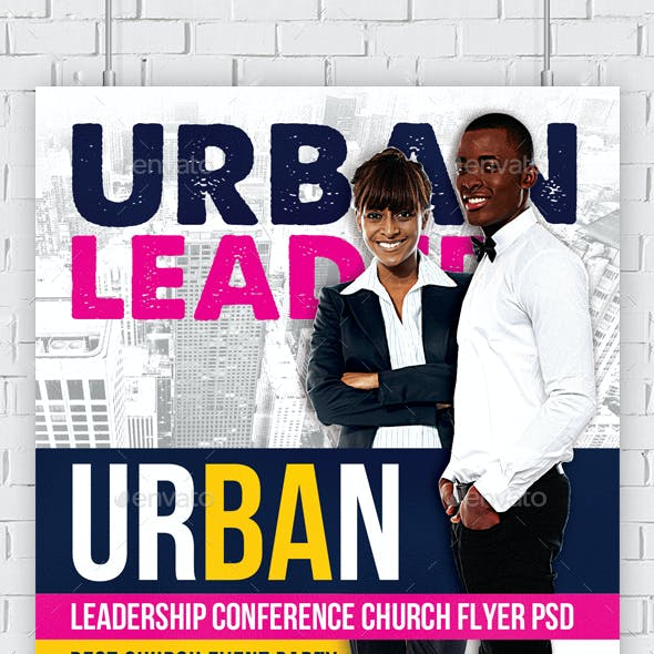 Youth Leadership Conference Church Flyer
