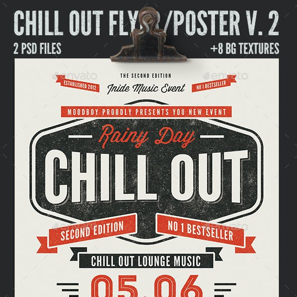 Chill Out Flyer/Poster V. 02