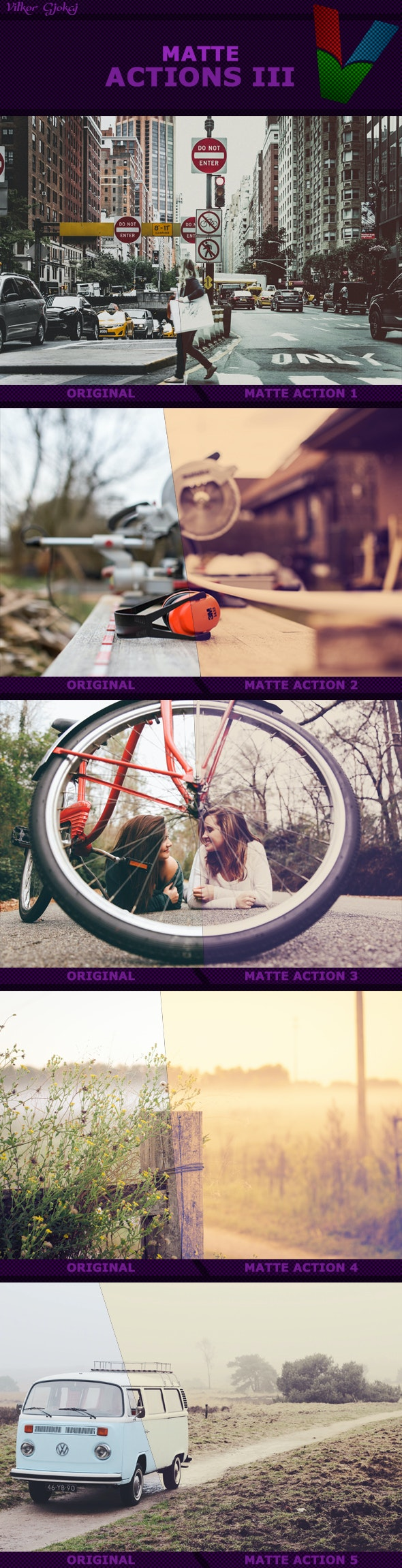 Matte Actions III - Photo Effects Actions