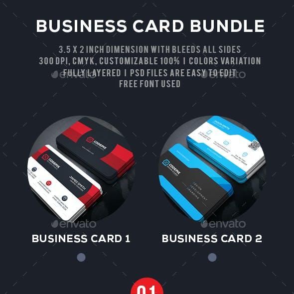 Shape Business Card Bundle