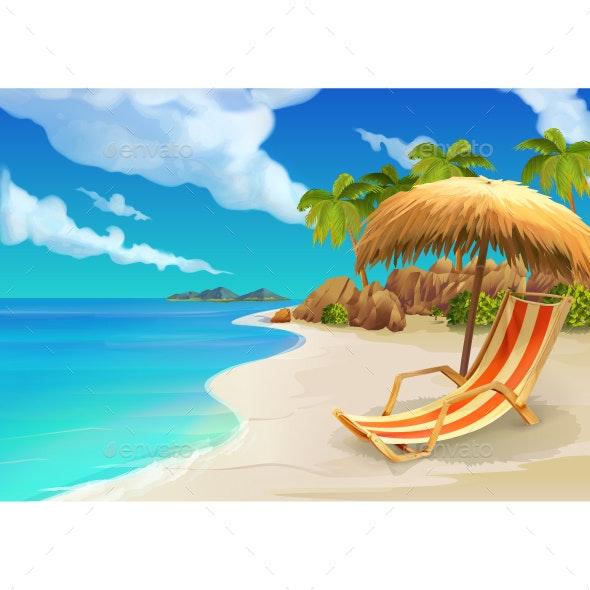 Tropical Beach - Seasons Nature