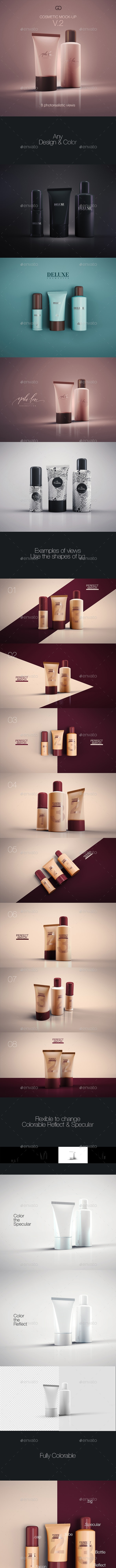Cosmetic Mock-up 2 - Beauty Packaging
