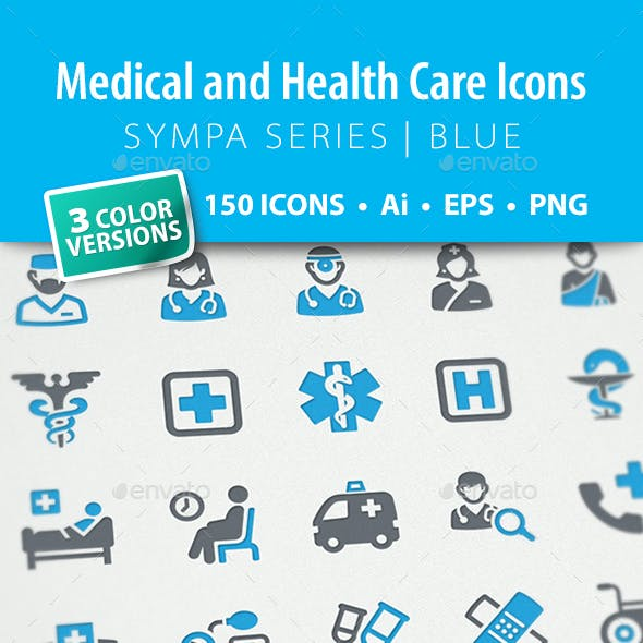 Medical & Health Care Icons - Sympa Series