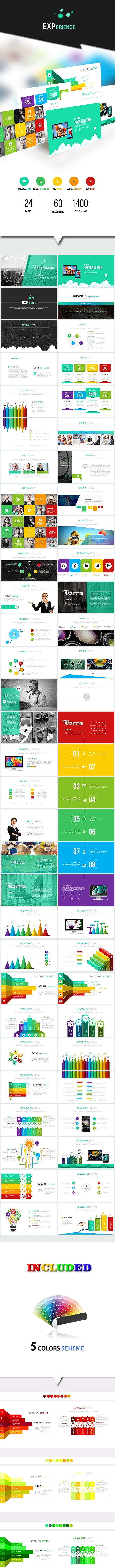 EXPERIENCE - Google Slides Template - Google Slides Presentation Templates