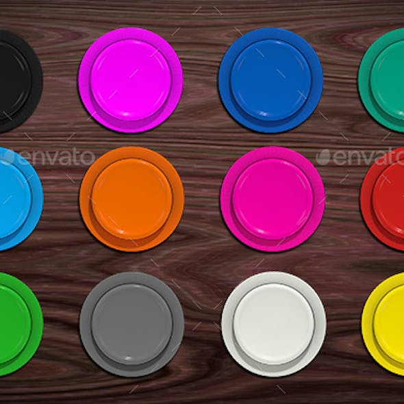 Arcade Button Pack