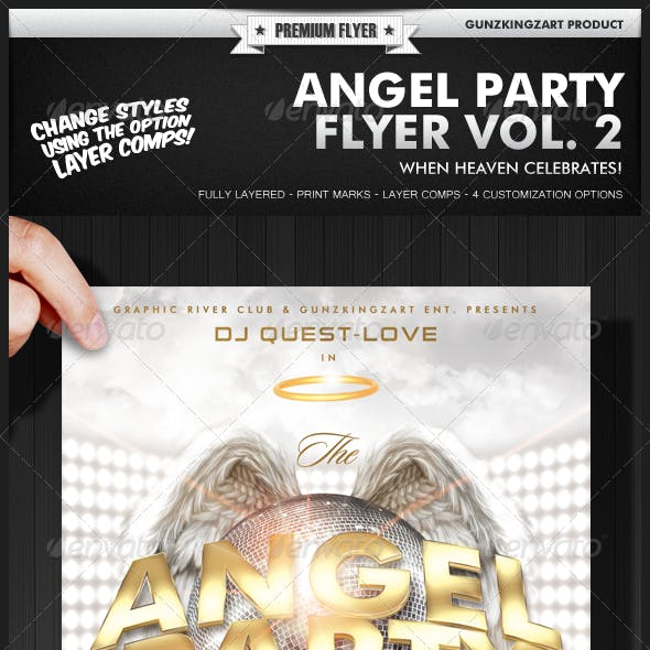 Angel Party Flyer Vol. 2