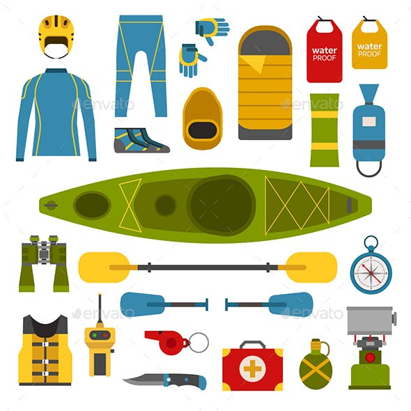 Rafting and Kayaking Set