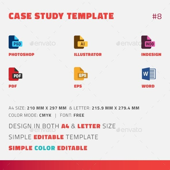 Case Study Template | Flyer