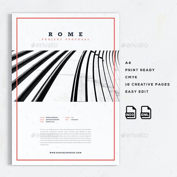 Rome | A4 Creative Business Proposal