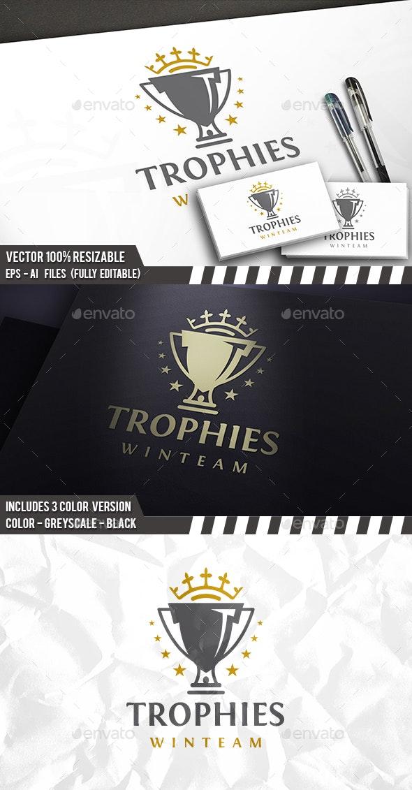 Trophy Logo - Crests Logo Templates