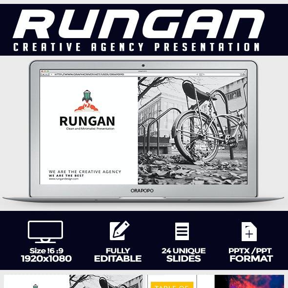 Rungan ~ Creative Agency Presentation