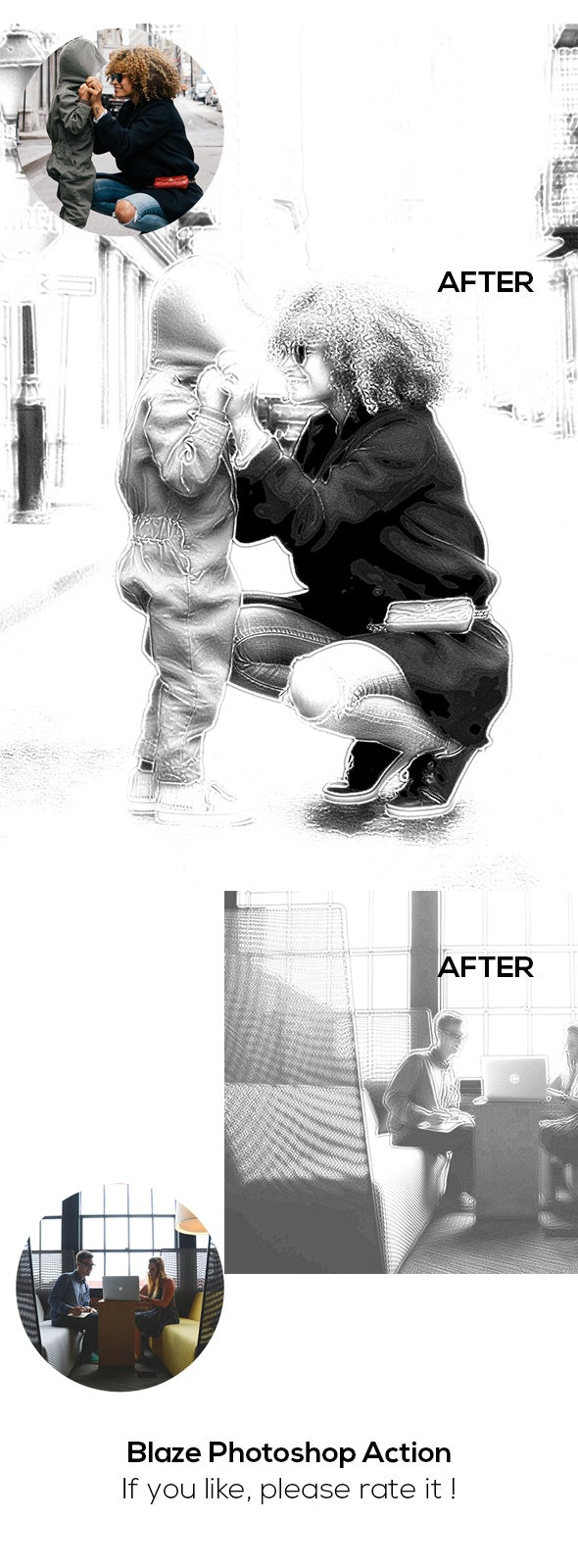 Blaze Photoshop Action - Photo Effects Actions