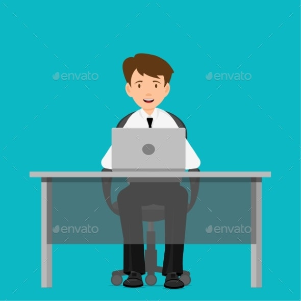 Businessman Consultant at Work - Concepts Business