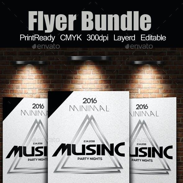 Electro Flyer Template Bundle