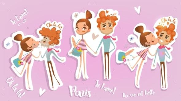 Kiss in Paris - Weddings Seasons/Holidays