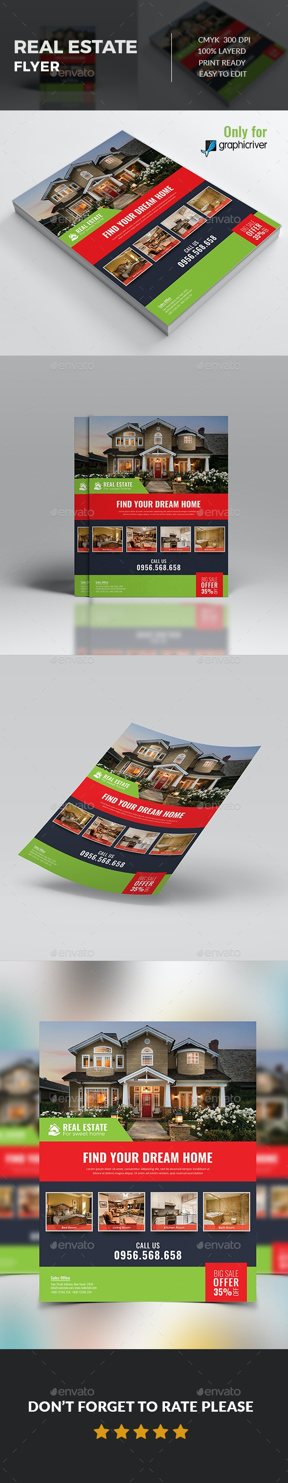 Real Estate Flye - Flyers Print Templates