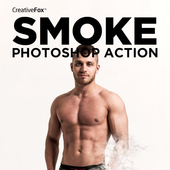 Smoke Photoshop Action - Smoke Effect Creator Action