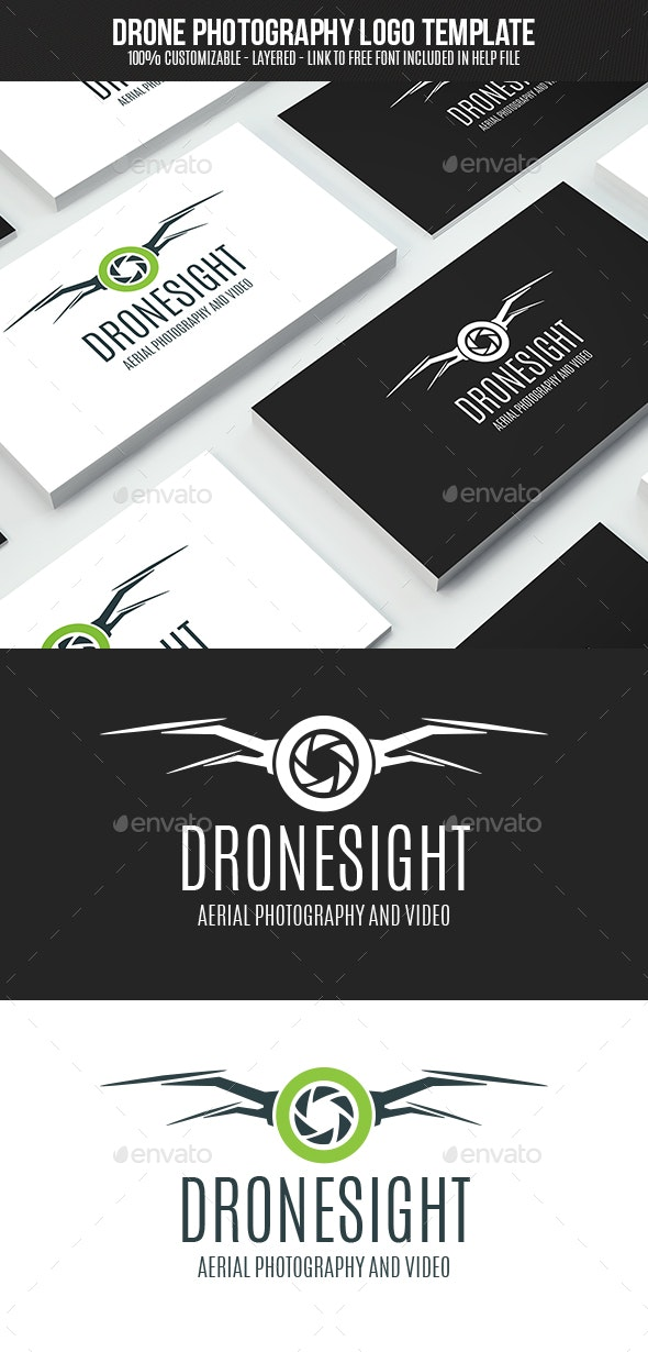 Drone Photography - Vector Abstract