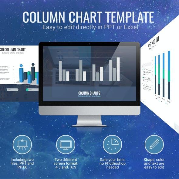 Column Chart - Editable Chart