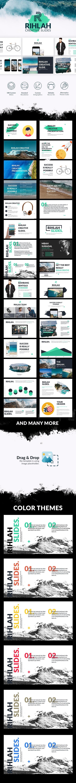 Rihlah Creative Powerpoint - Creative PowerPoint Templates