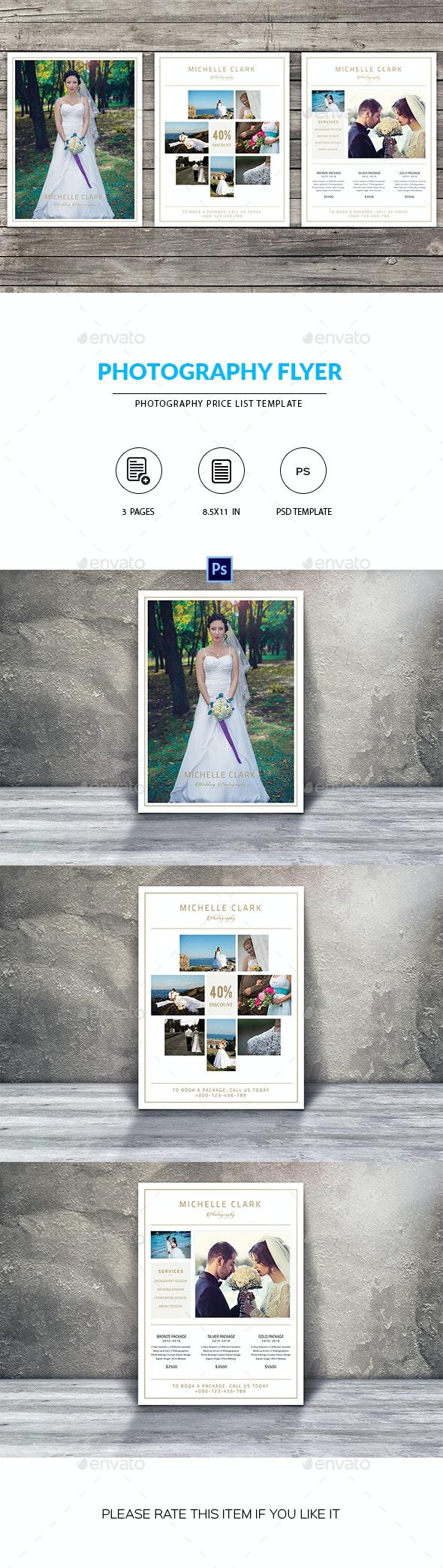 Minimal Photography Flyer - Corporate Flyers