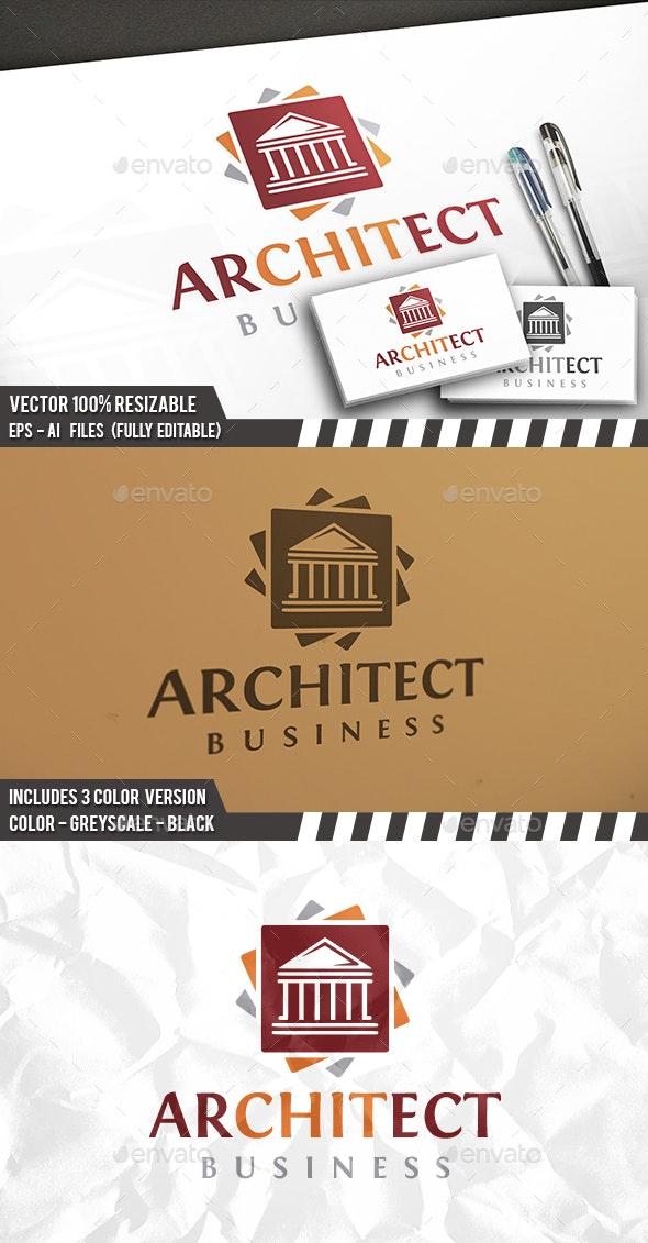 Architect Classic Logo - Buildings Logo Templates