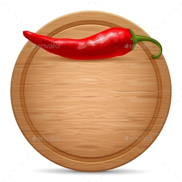 Cutting Board - Food Objects