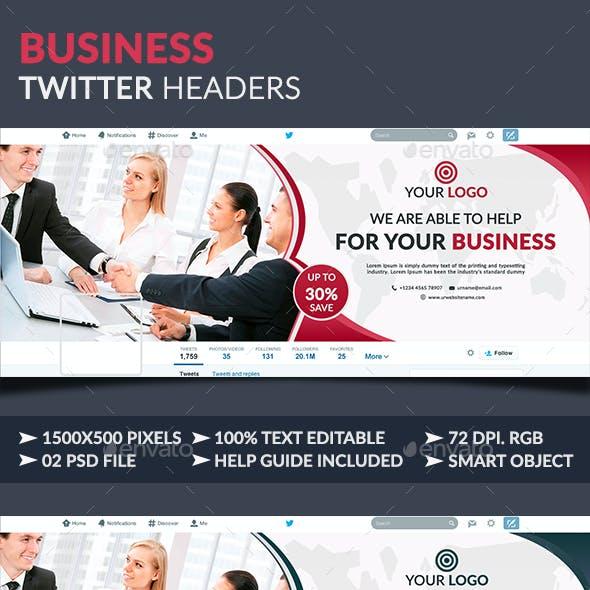 Business Twitter Headers