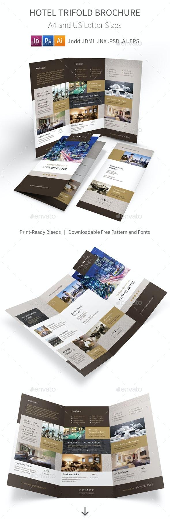 Hotel Trifold Brochure 5 - Corporate Brochures