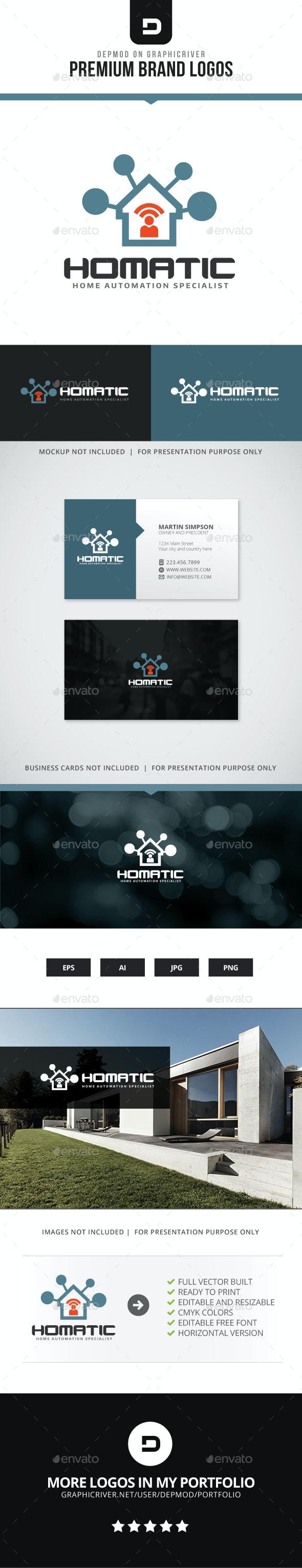 Homatic Logo - Symbols Logo Templates