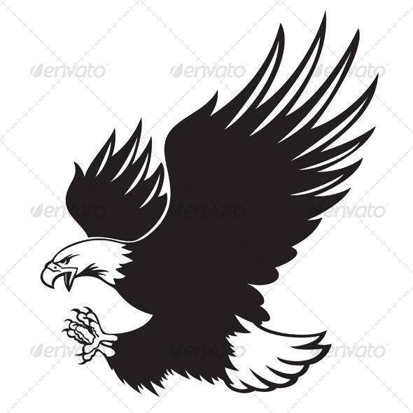 bald eagle - Animals Characters