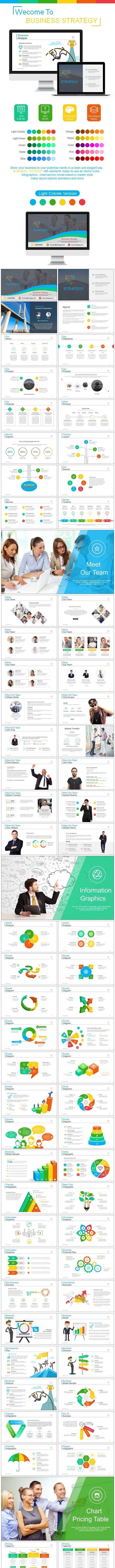 Business Strategy Keynote Templates - Keynote Templates Presentation Templates