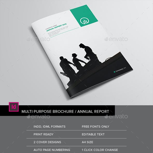 The Brochure / The Annual Report