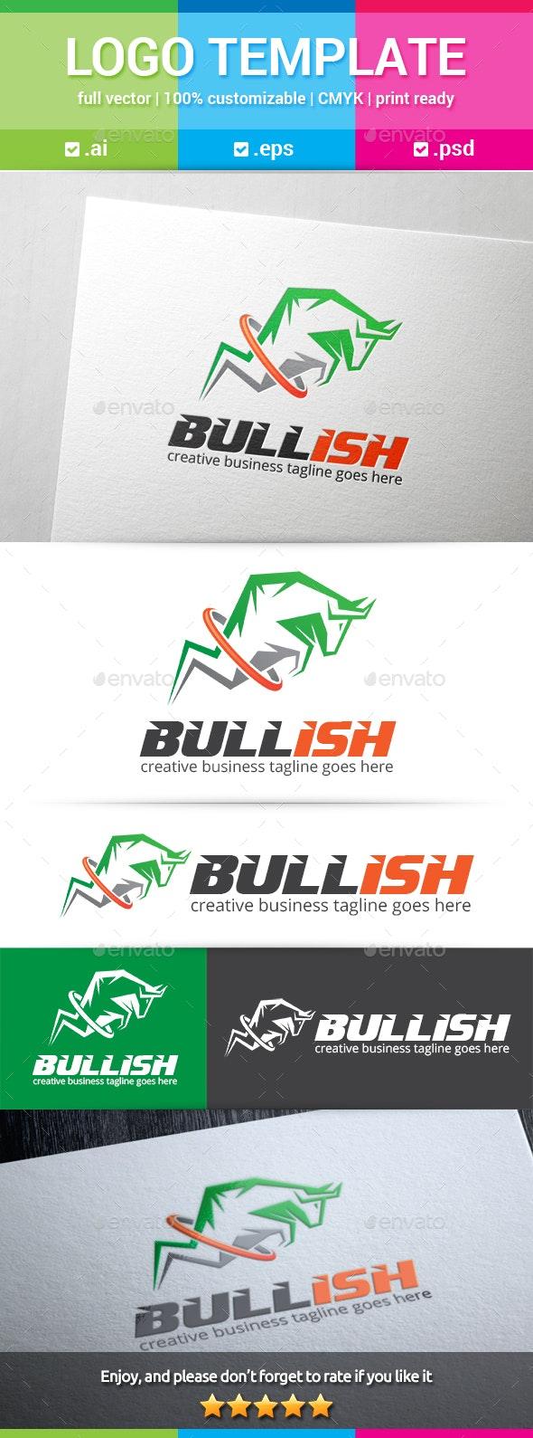 Bullish Logo - Animals Logo Templates