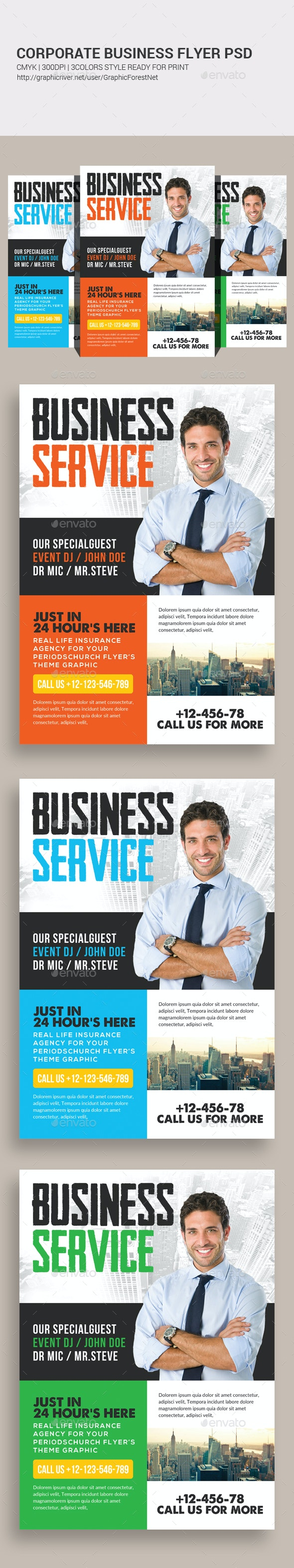 Business Flyer Psd - Corporate Flyers