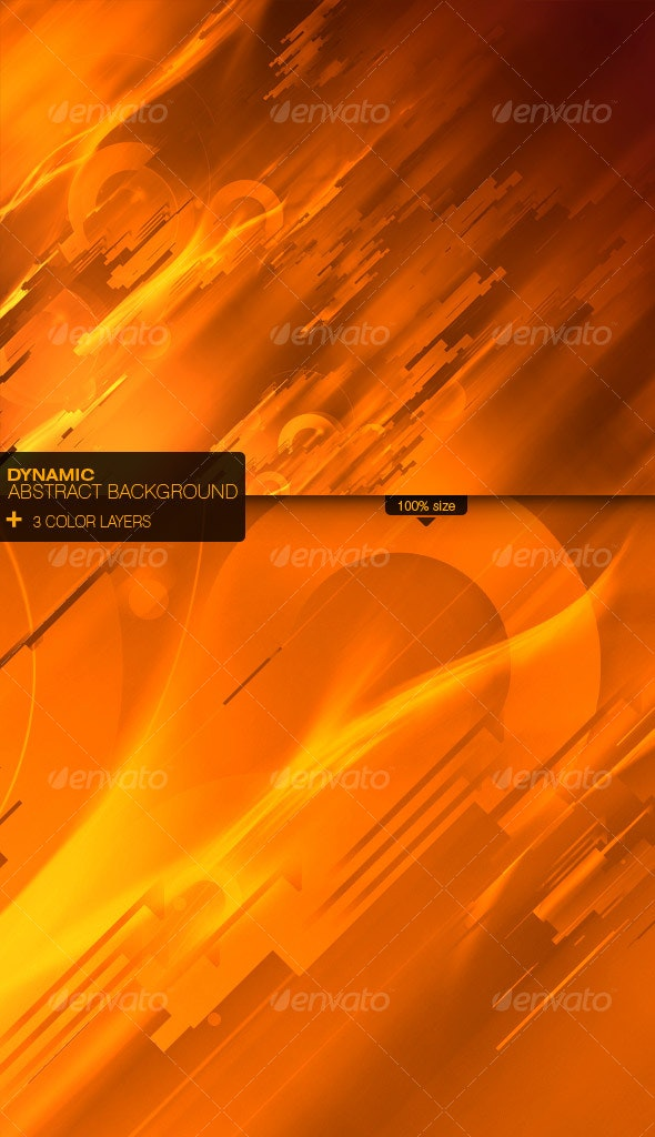 Dynamic Abstract background - Abstract Backgrounds