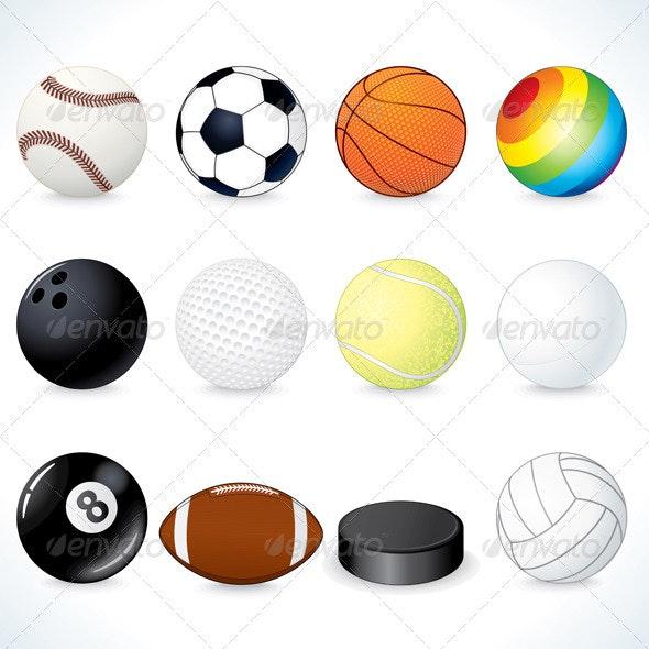 Sport Equipments - Sports/Activity Conceptual