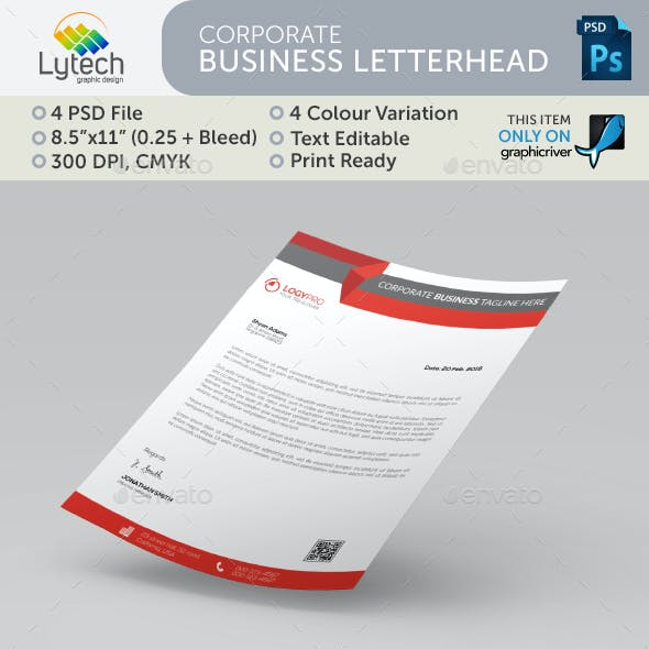 Carporate Business Letterhead